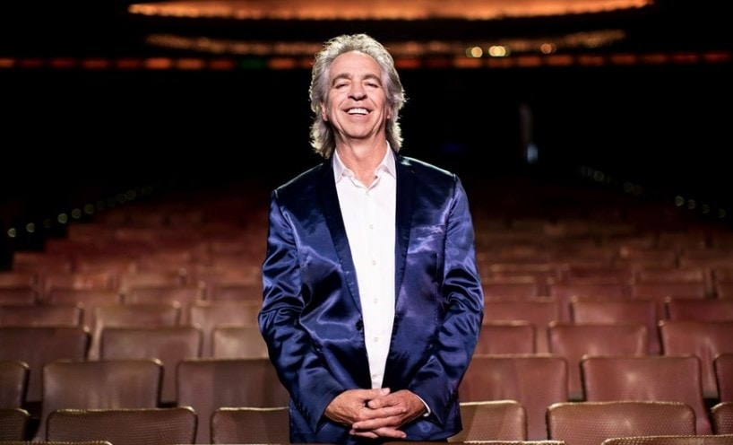 Brian Nankervis is an Australian writer, performer and producer, standing in the seats of the Palais Theatre in St Kilda