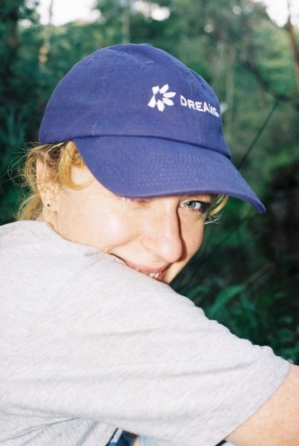 Jemma burns is Australia's most in-demand film/TV music supervisor, hee she is peeking out from under her hat